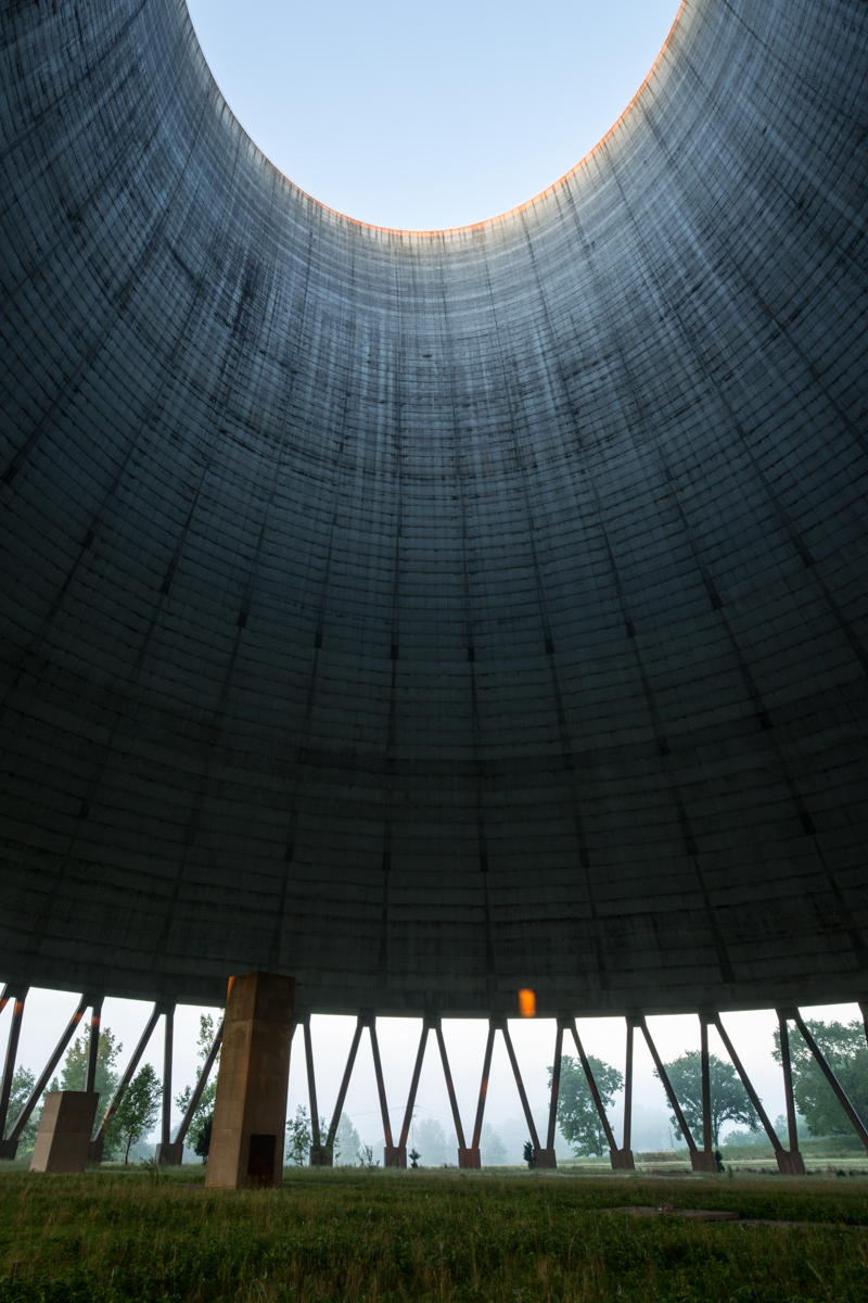 Cooling Tower    |    Hartsville Nuclear Power Plant    |    Tennessee