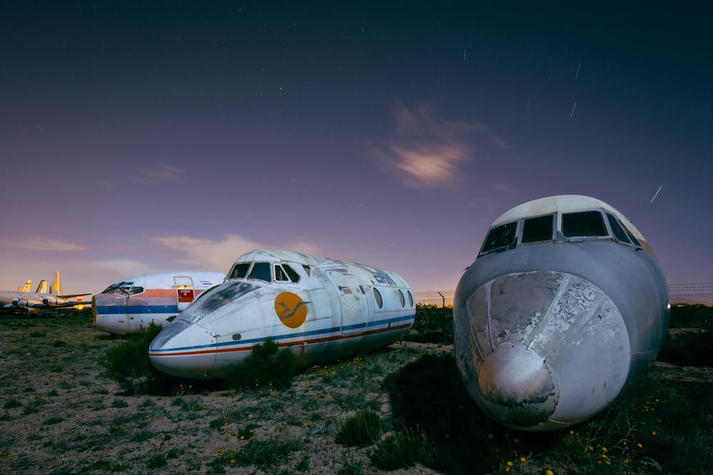 Nose Cones     |    Aircraft Boneyard    |    Arizona