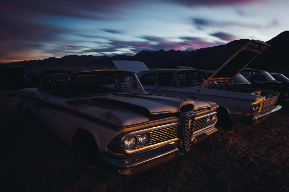 Edsel  |  Junkyard  |  California