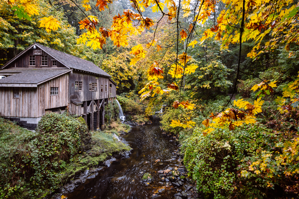 Cedar Creek Grist Mill    |    Washington