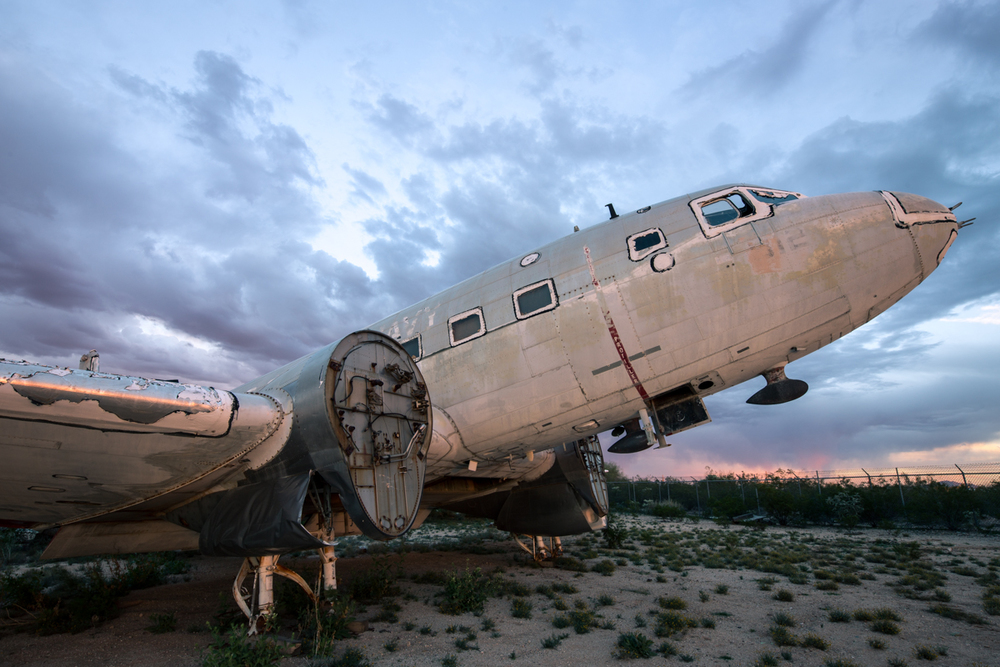 Aircraft Boneyard    |    Arizona