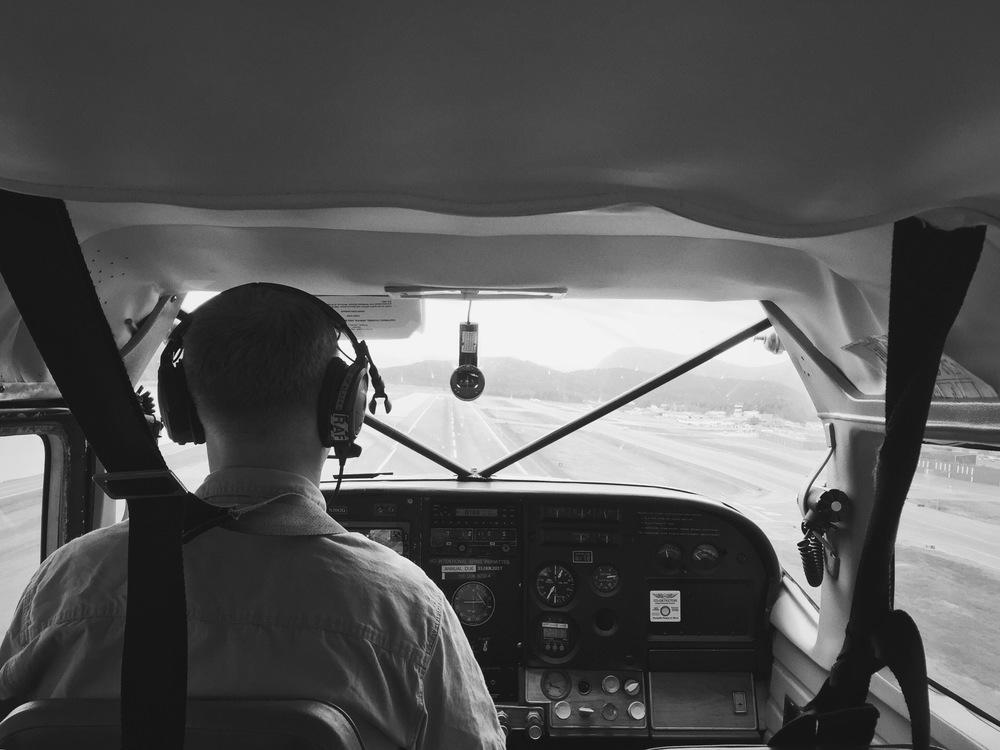 Landing in Juneau