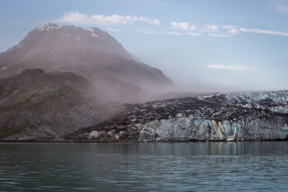 Johns Hopkins Glacier     Glacier Bay National Park     Alaska