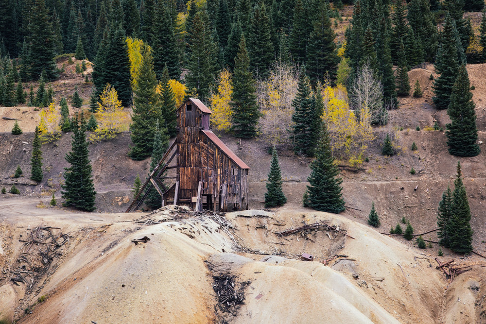 Abanadoned Mine    |    San Juan Mountains    |    Colorado