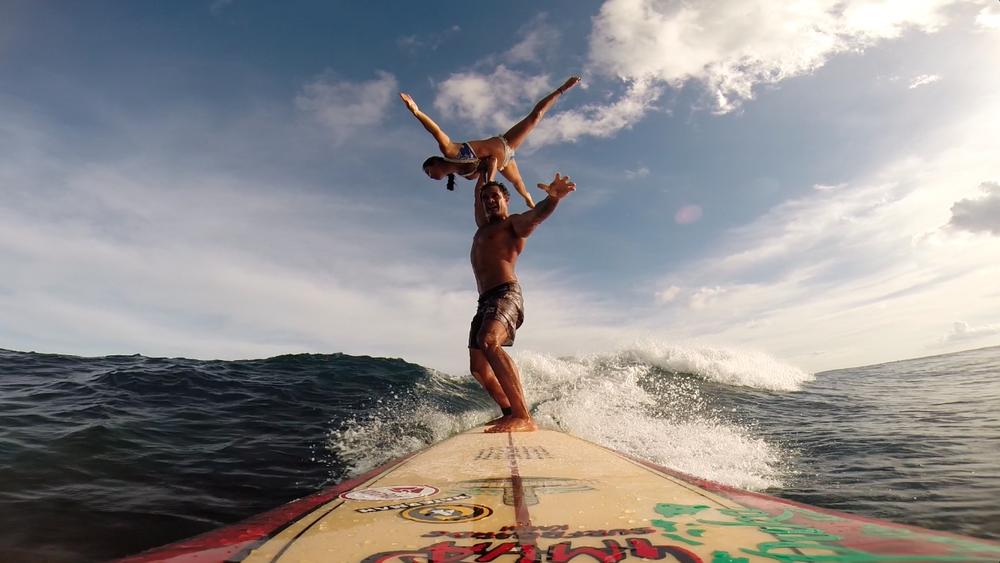 Tandem Surfing | Acro | Hawaii