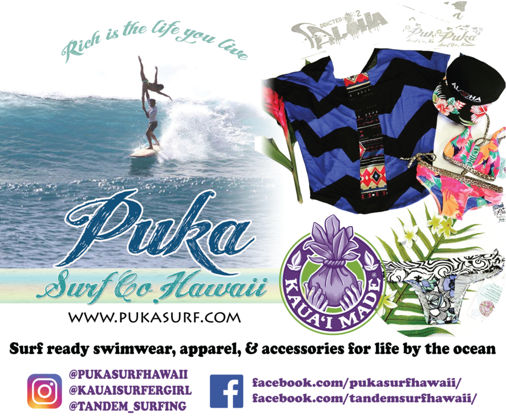 Puka Surf Co. Intro - PUKA - opportunity or holeLike the ying and yang the word Puka is translated as hole; it can also be the opportunity to make something whole. Seek opportunities that bring positive light in life.