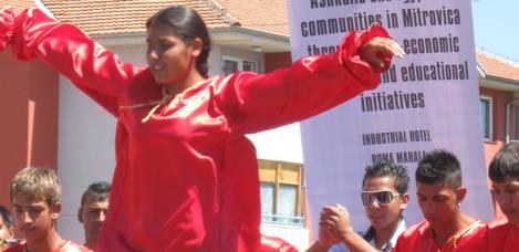 RAE community worker Roma Mahalla, Mitrovica
