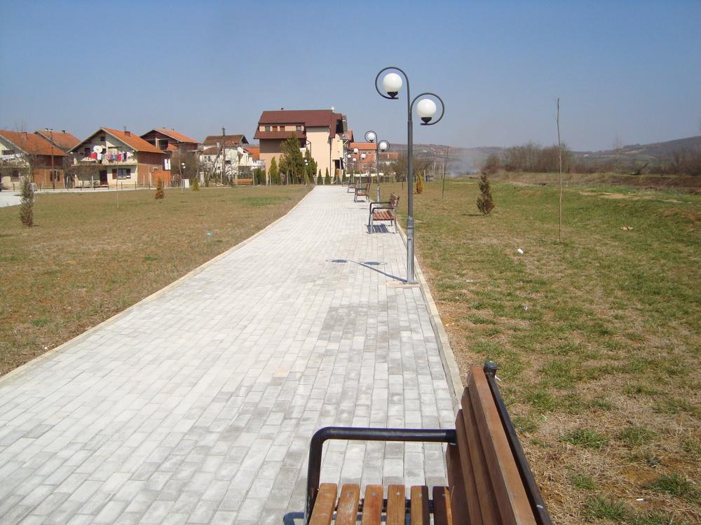 Infrastructure project Klina/ë