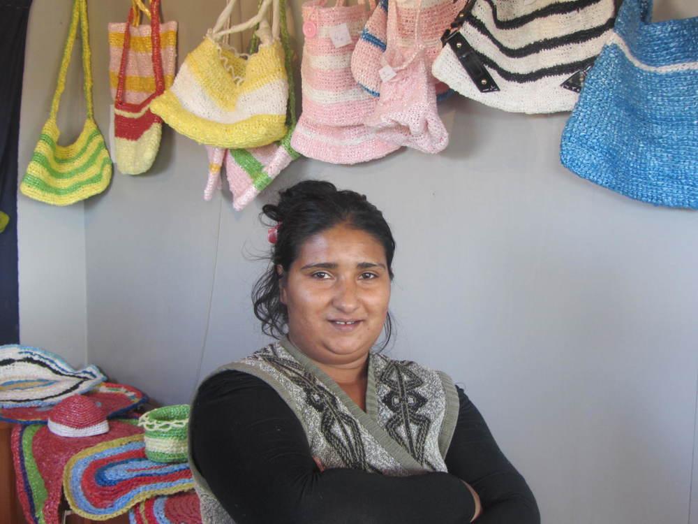 Member of the Roma Mahallawomen's group, Mitrovica