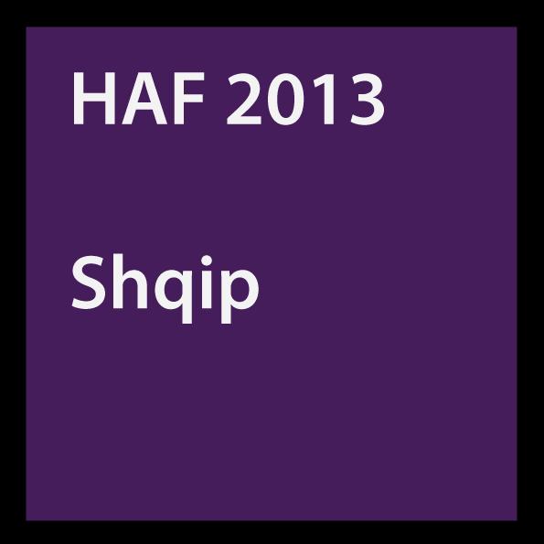 HAF 2013 Shqip