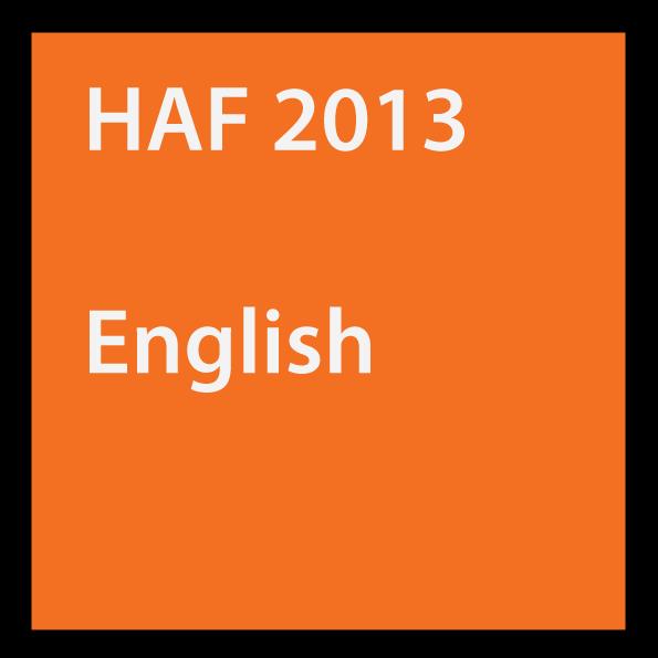 HAF 2013 English