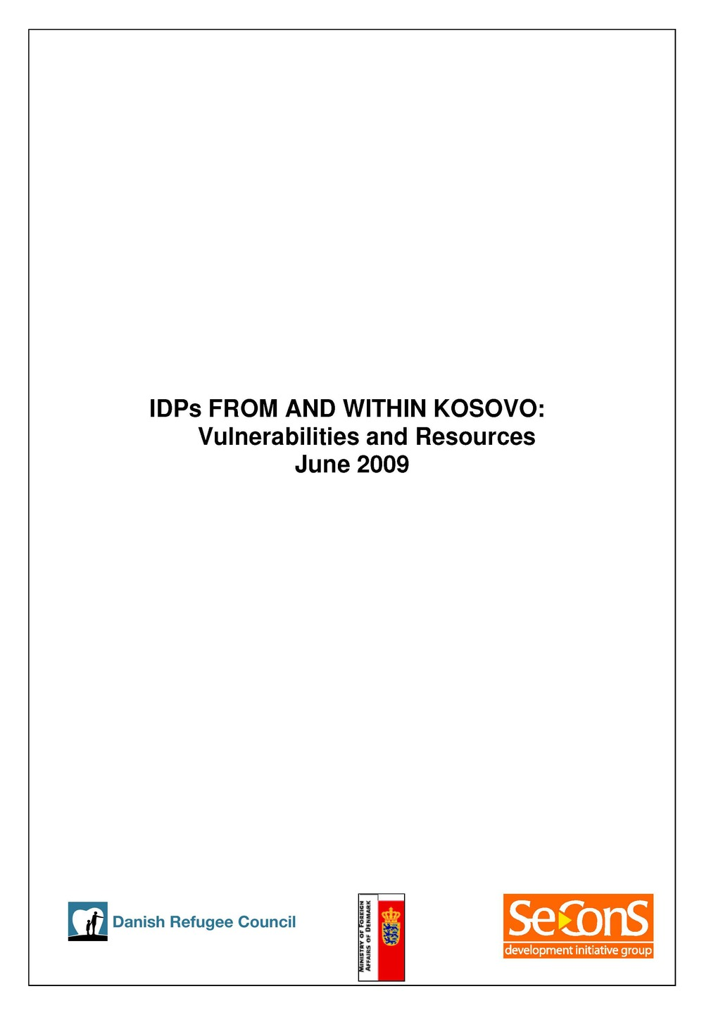 IDPs from and within Kosovo
