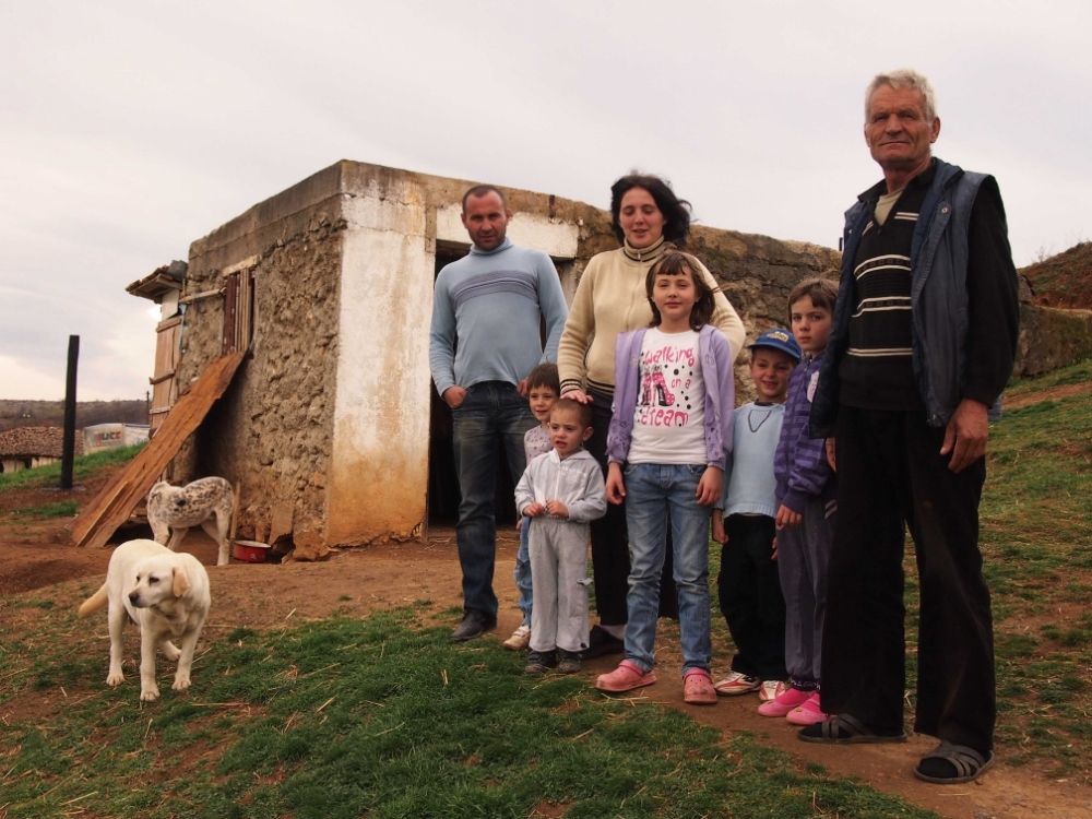 The Dimic family returned to Strazhë/Straža village in Novobërdë/Novobrdo Municipality in June 2013.