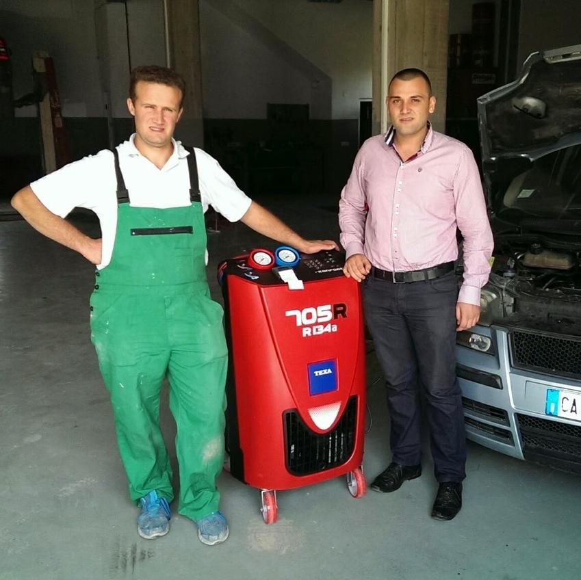 Car service equipment, Dragash/s