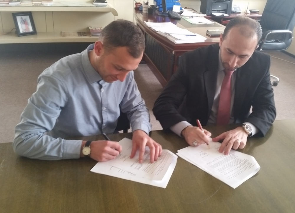 DIRECTOR OF GJUVLJANO MANGIPE SIGNS FIRST MEMOMORANDUM OF UNDERSTANDING