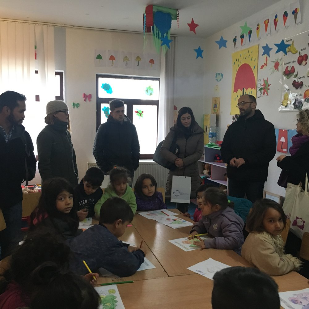 Children at the Learning Centre, Roma Mahalla