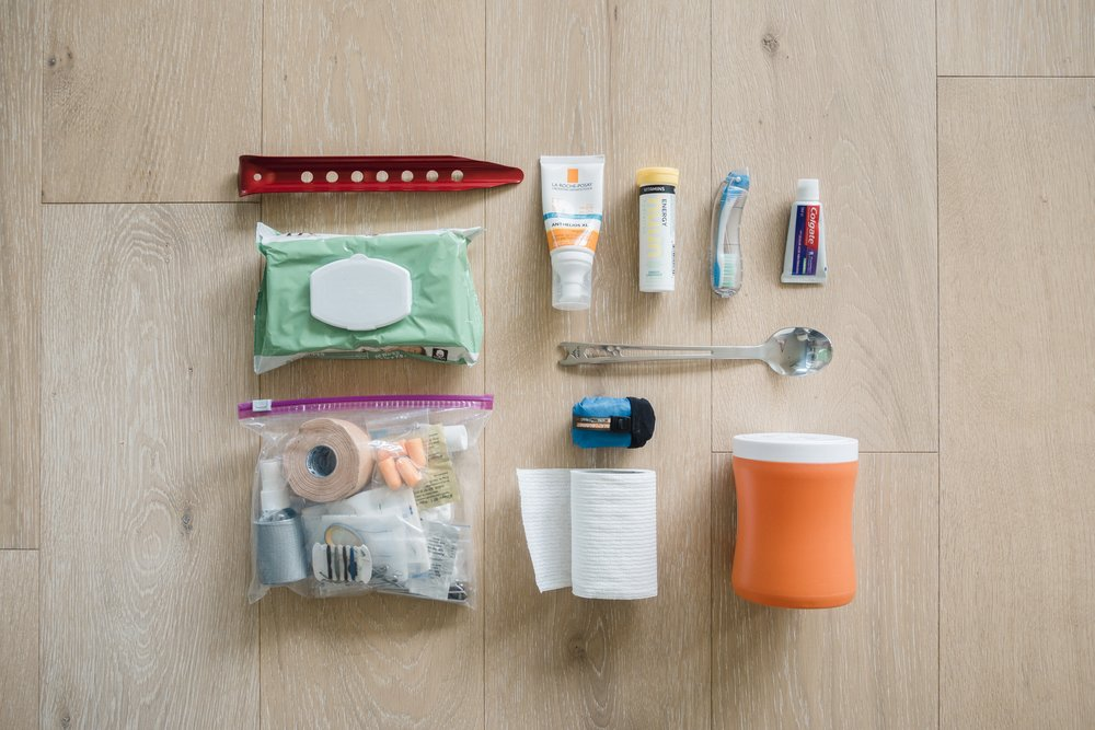 Toiletries for PCT
