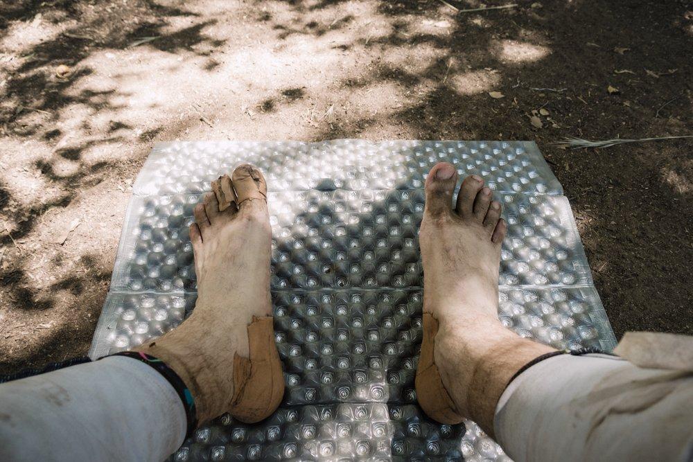 Hiker feet