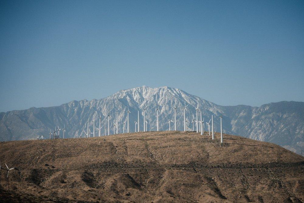 Mesa wind farm.