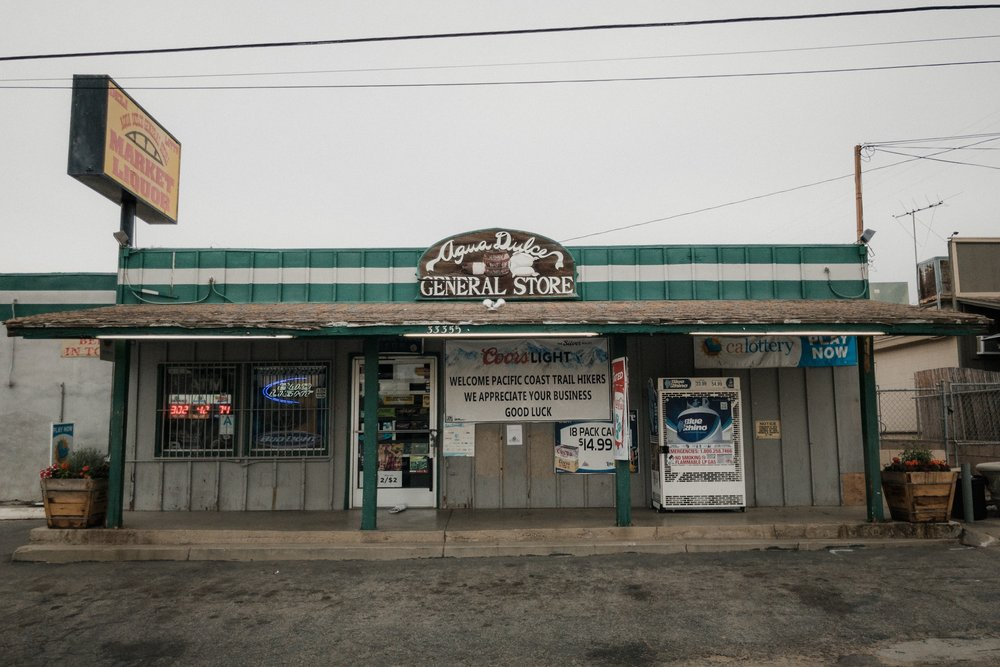Aqua Dulce General Store.
