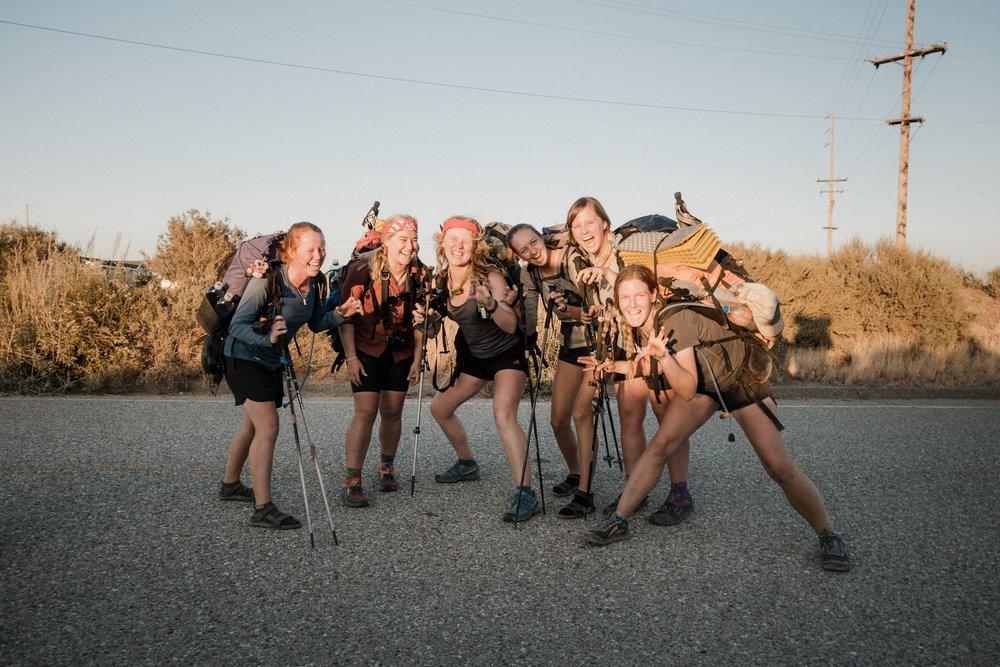 Hiker roar!