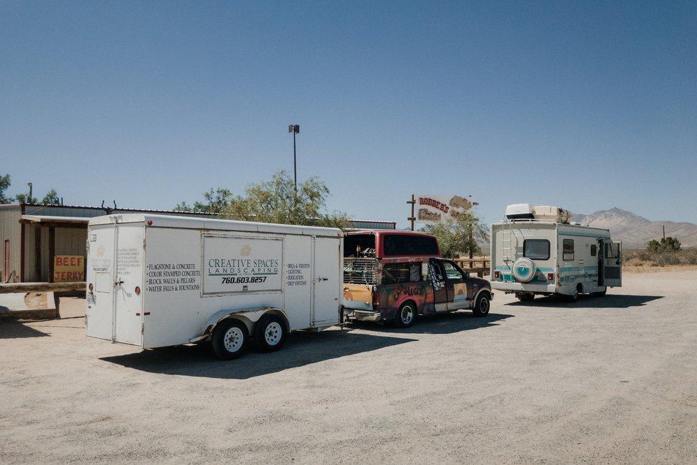 Our caravan.