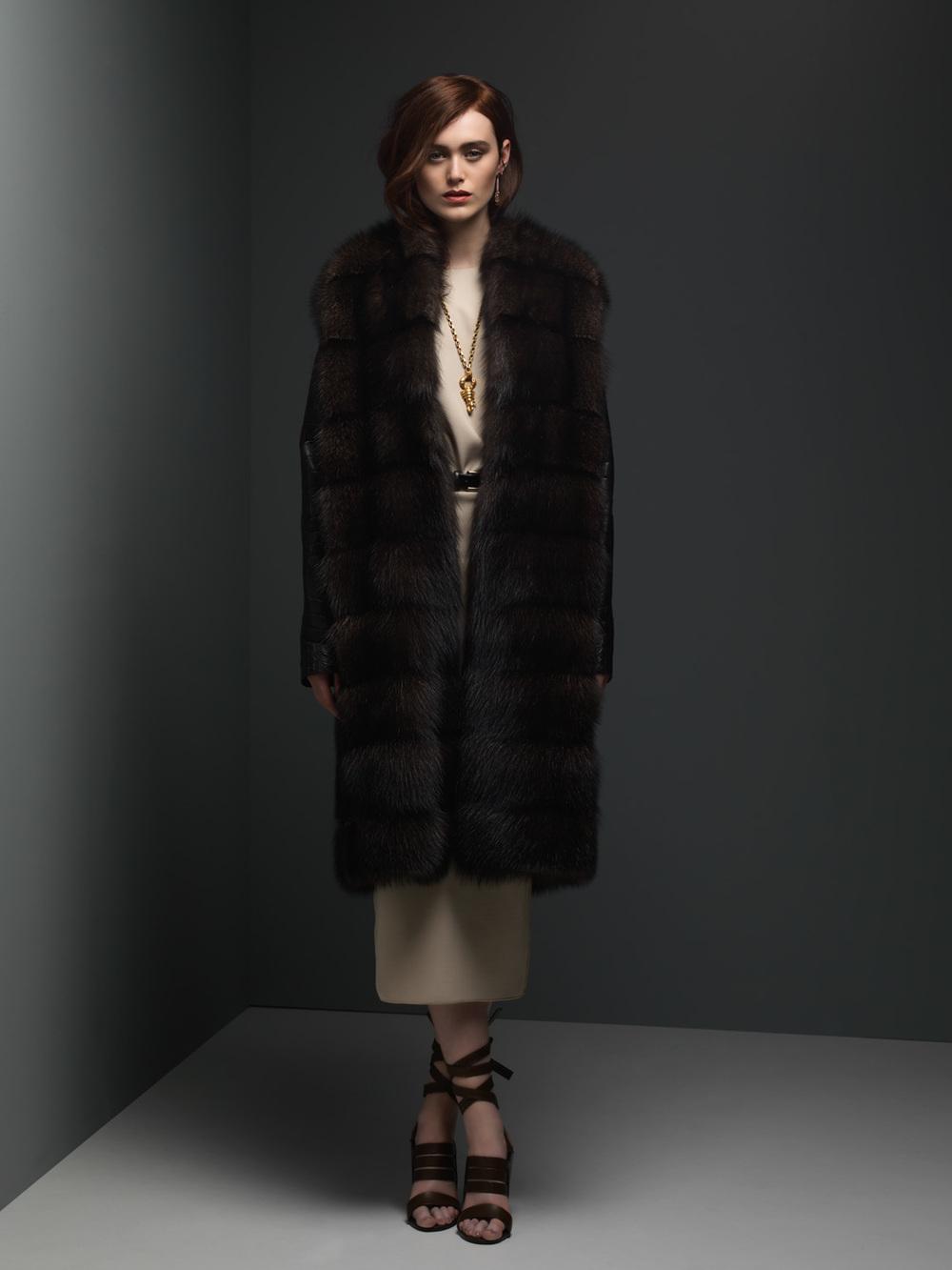 Fisher & Crocodile Coat