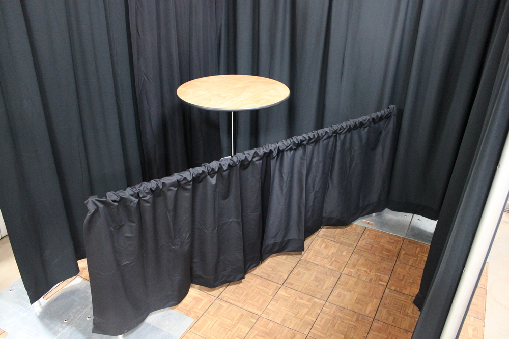 3 ft Black Drape  $2.79 sq/ft
