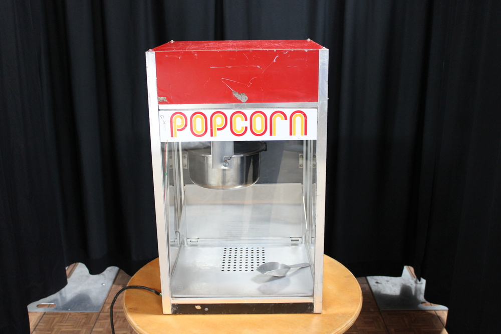 Popcorn Machine$ 75.00  Popcorn, Butter, & Bags$ 0.75/person
