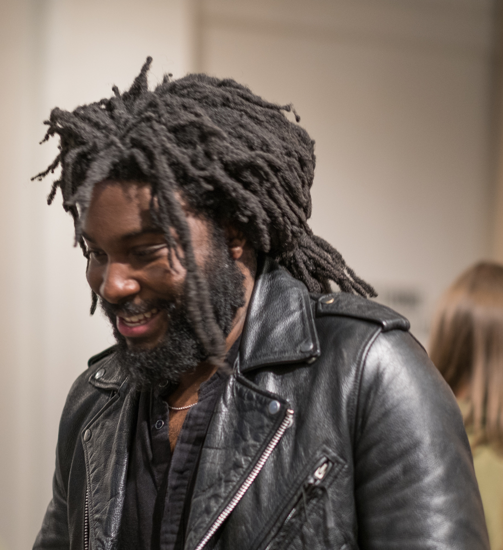 """Jason Reynolds, Author of """"The boy in the black suit"""""""