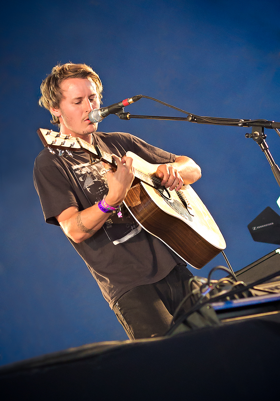 Press pass entry to photograph Ben Howard at Bestival on the Isle of Wight