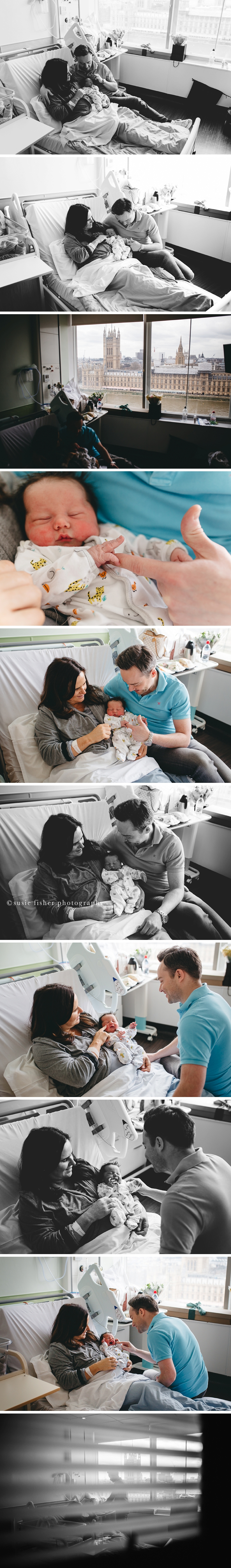 Newborn Family Photographs at Hospitals in Surrey_Copyright Susie Fisher Photography 2017