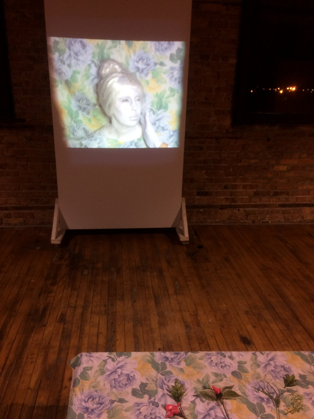 Grace With Arms Like Roses, Video Installation