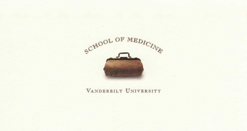 Campaign logo for Vanderbilt School of Medicine | Addy Award Winner