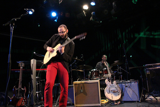 Opening for Os Mutantes @LPR-NYC. December 2012.Photo by Jéssica Barbosa