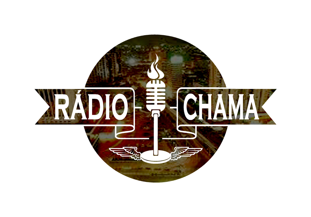"Logotipo criado pelo artista plástico ""Châmico"" Cezar Altai."