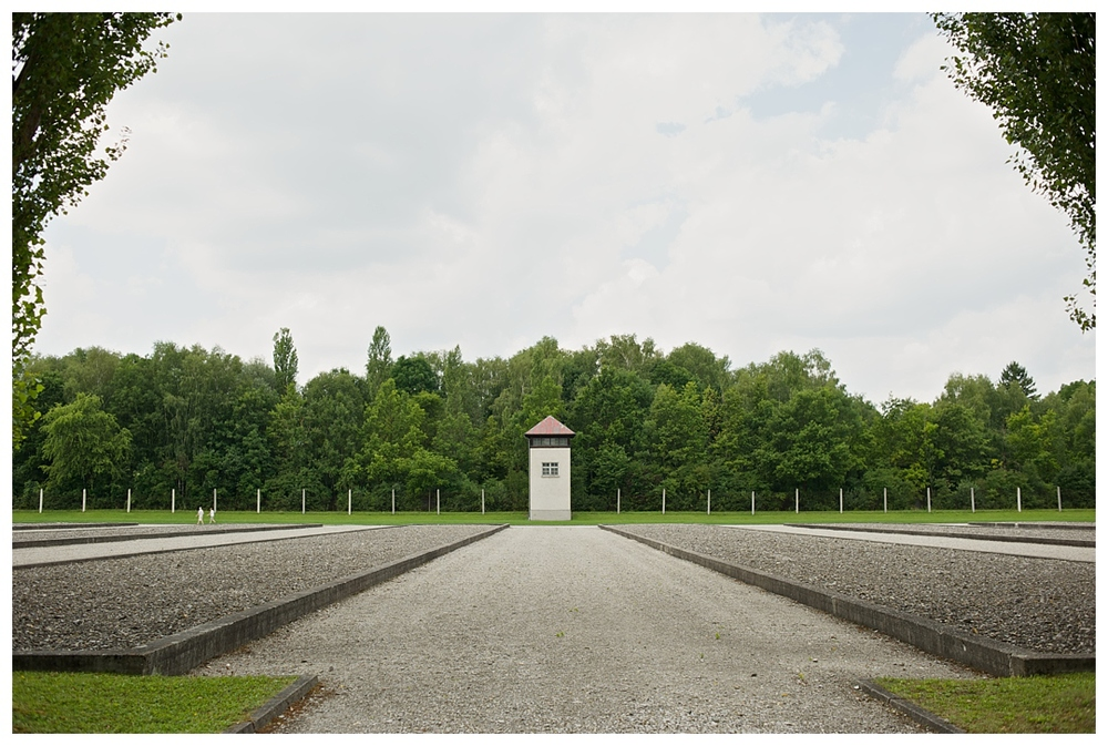 Guard Tower, Dachau, Germany