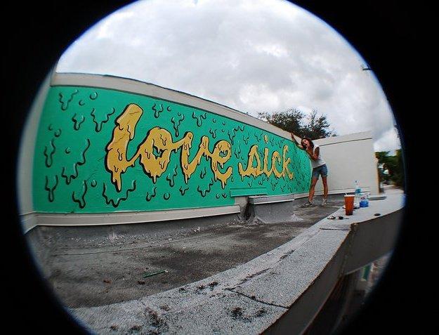 LOVE SICK- mural