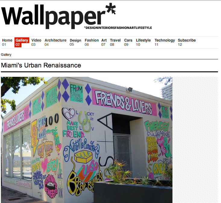 Featured in Wallpaper* Magazine  |  read more here