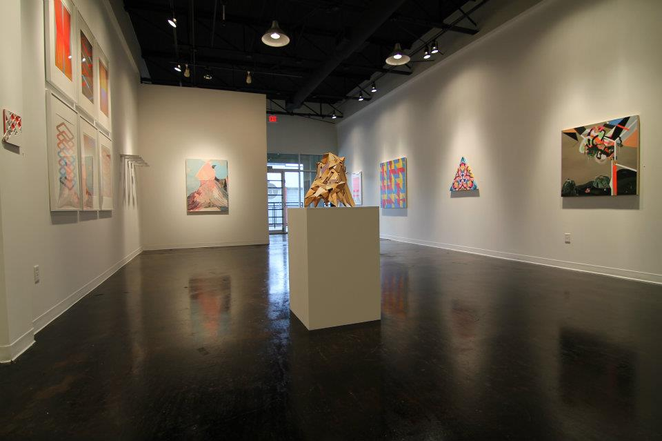 gallery view of the show