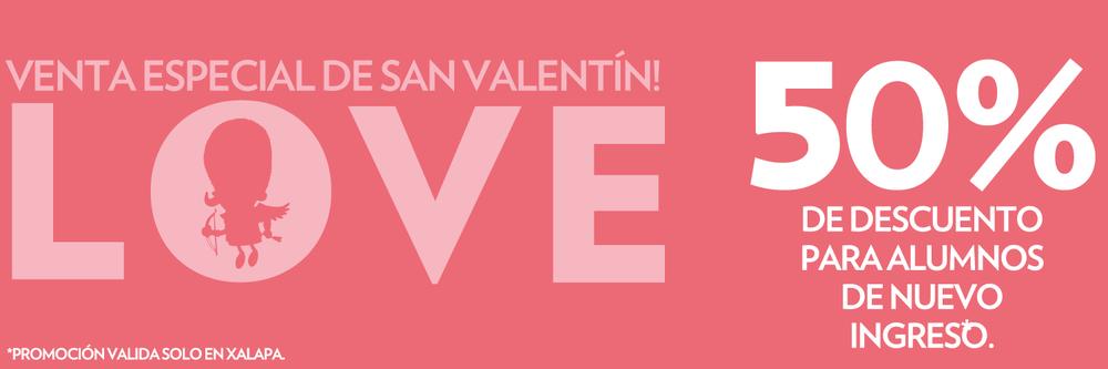 ¿Te gustaría recibir más información sobre nuestra promoción de San Valentín? Por favor proporciona los siguientes datos y estaremos en contacto contigo. Iniciamos cursos 3, 21 y 22 de Febrero de 2015.