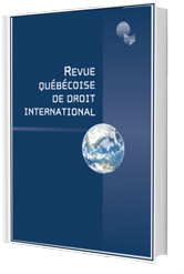 Revue Quebecoise De Droit International