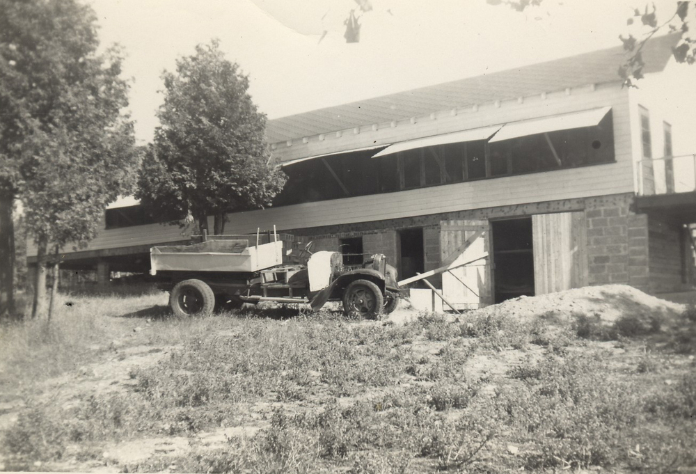 1952 - building the Dining Hall 5.jpg