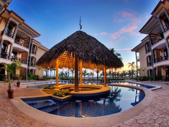 Daystar Bahia Encantada Swimming Sunset.jpg