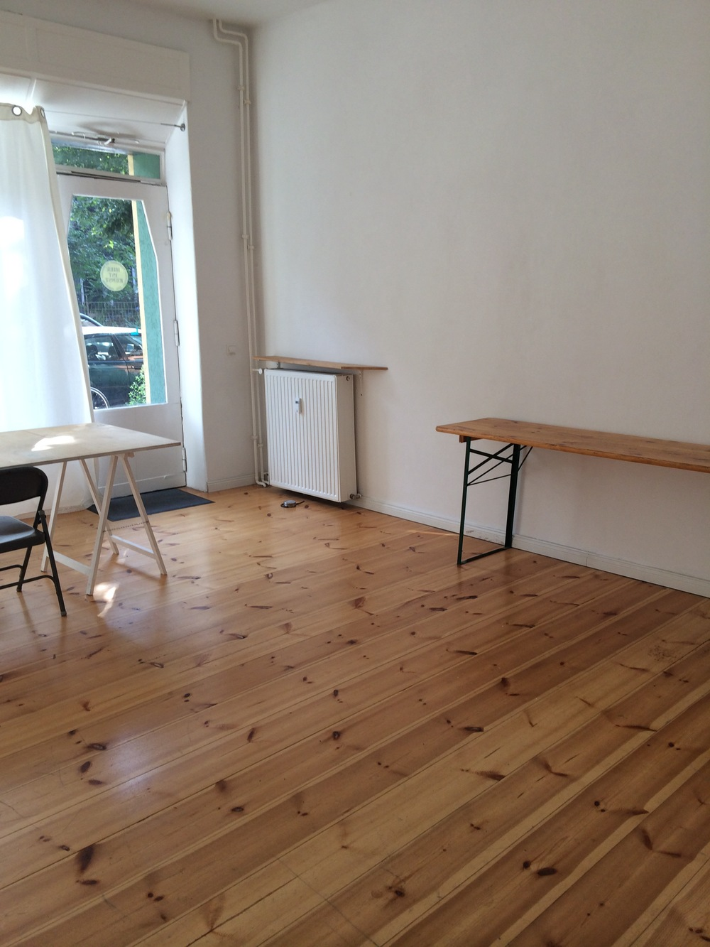 Studio Space in front