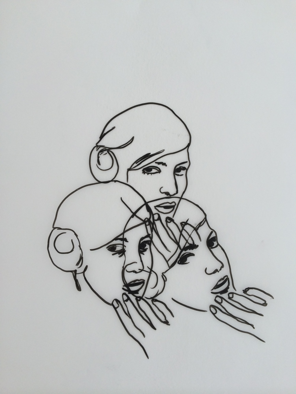 8/9/14 Tracing overlapping heads