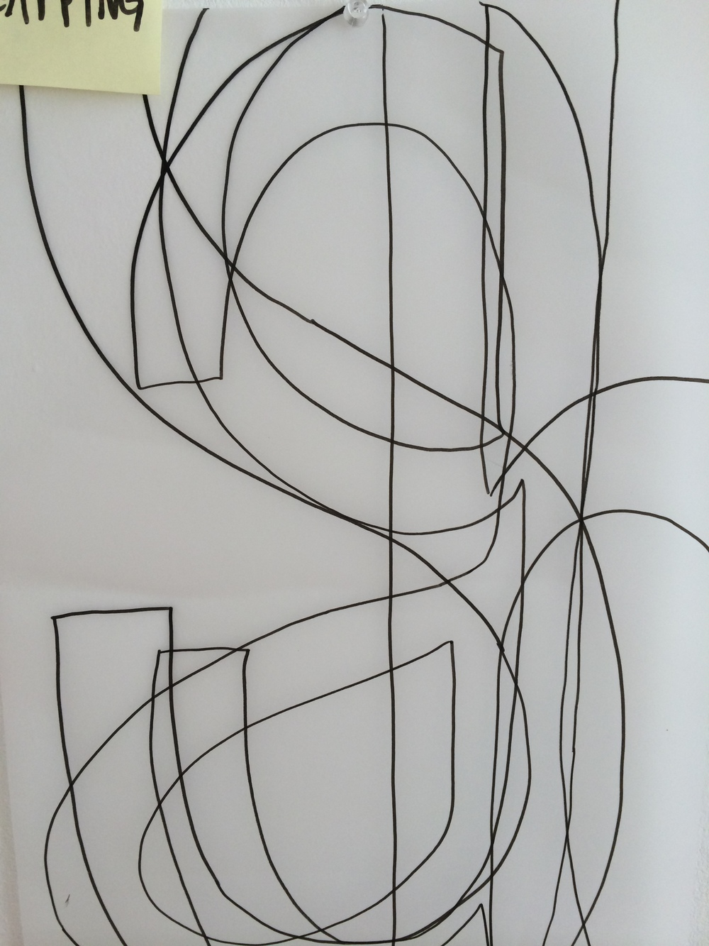 8/6/14 Tracing overlapping text