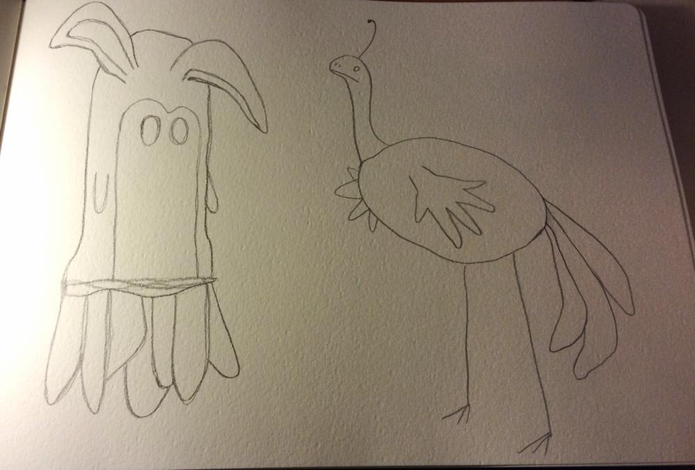 11.22 Weird critters