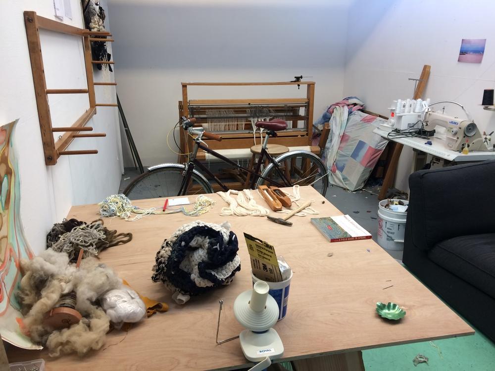 My studio recently