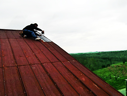 Superior Home Improvements  Metal Roofing Repair: Winchester, Ky.